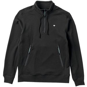 Diamond Diamante Mockneck Sweater Black