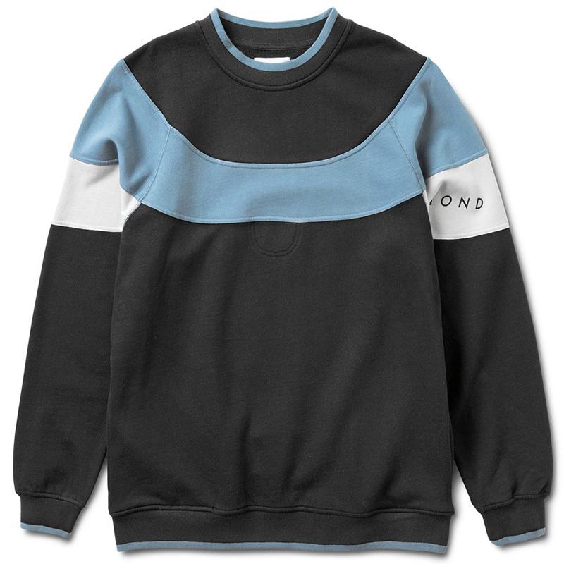 Diamond Fordham Crewneck Sweater Black