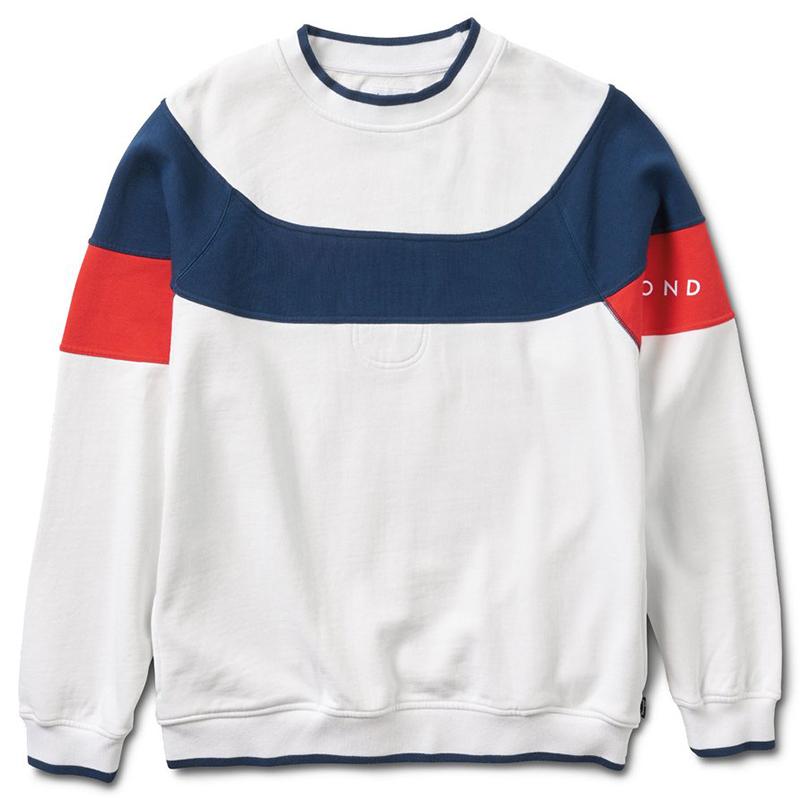 Diamond Fordham Crewneck Sweater White