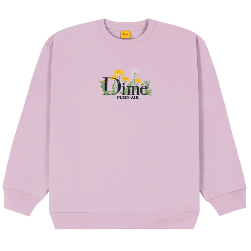 Dime Classic Allergies Crewneck Sweater Lavender Frost