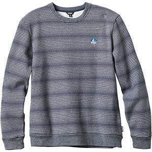 enjoi Method Crewneck Sweater Heather/Blue Stripe
