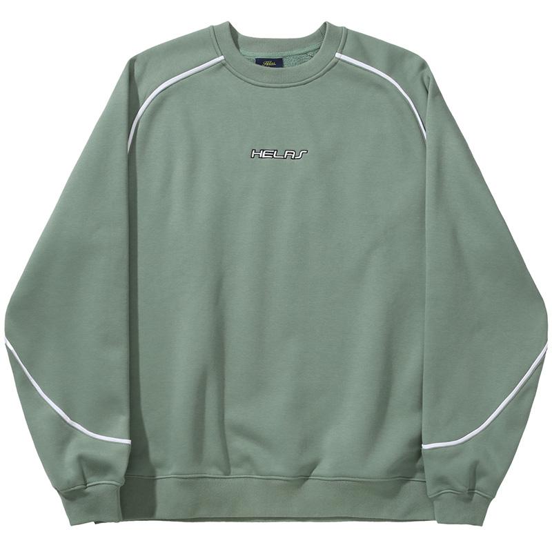Helas Fast Crewneck Sweater Pale Green
