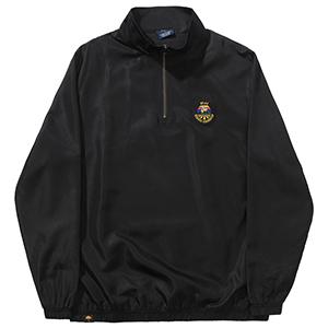 Helas Source Quarter Zip Sweater Black