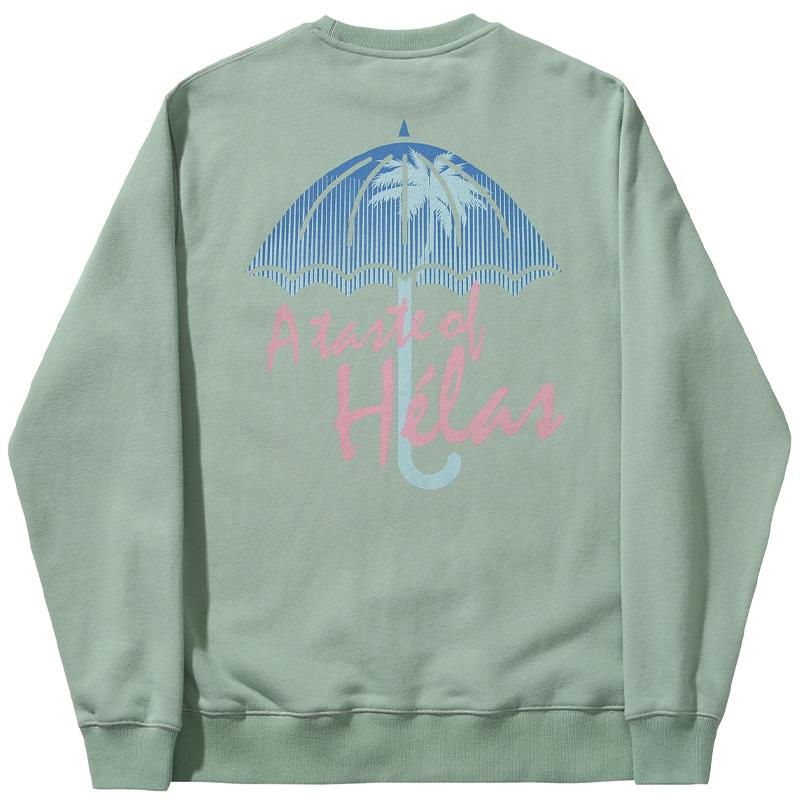 Helas Taste Crewneck Sweater Mint
