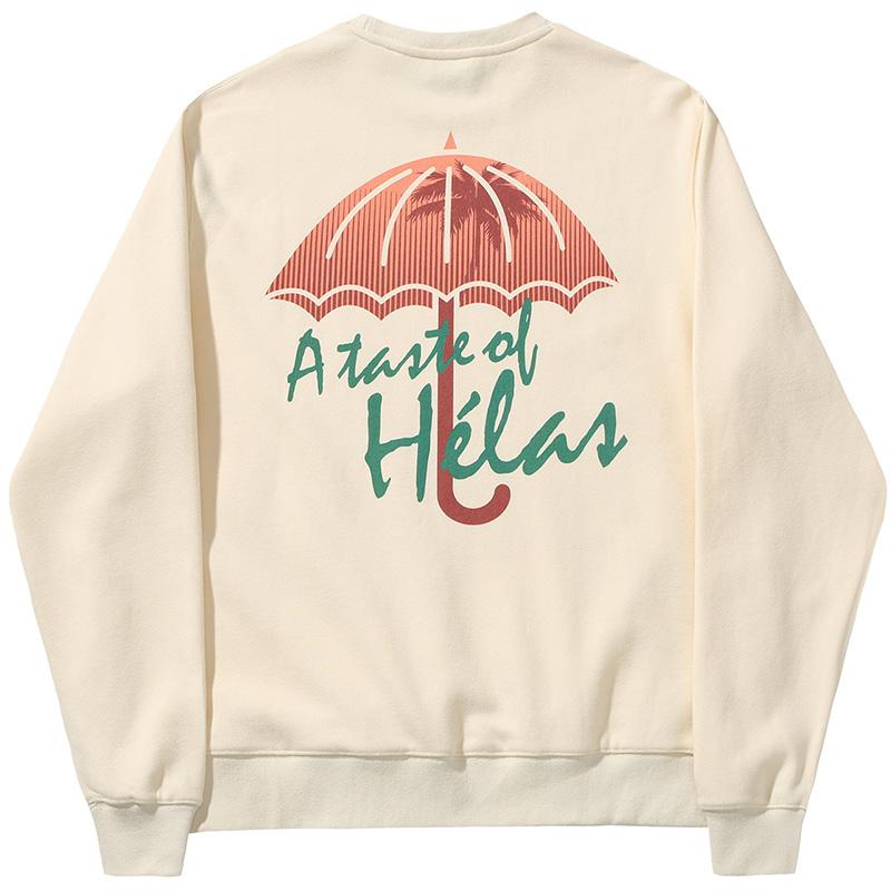 Helas Taste Crewneck Sweater Sand