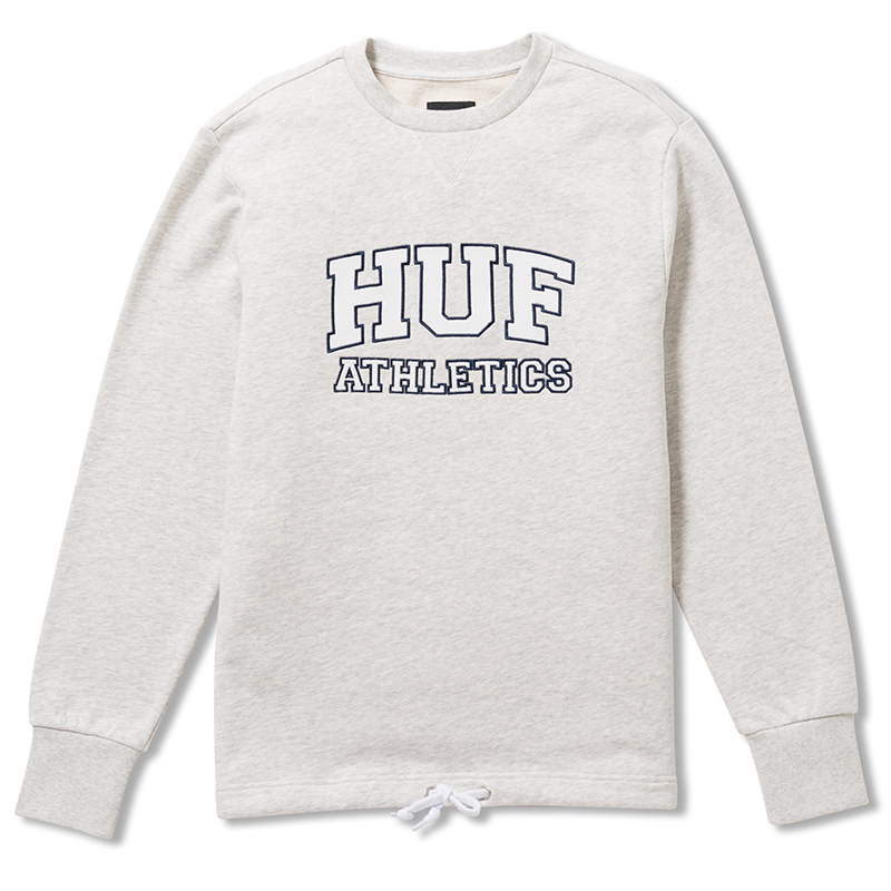 HUF Romes Crewneck Sweater Ash