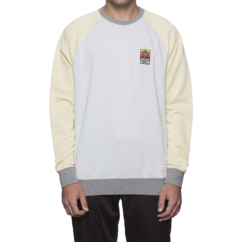 HUF Stoner Washed Crewneck Sweater Ballad Blue