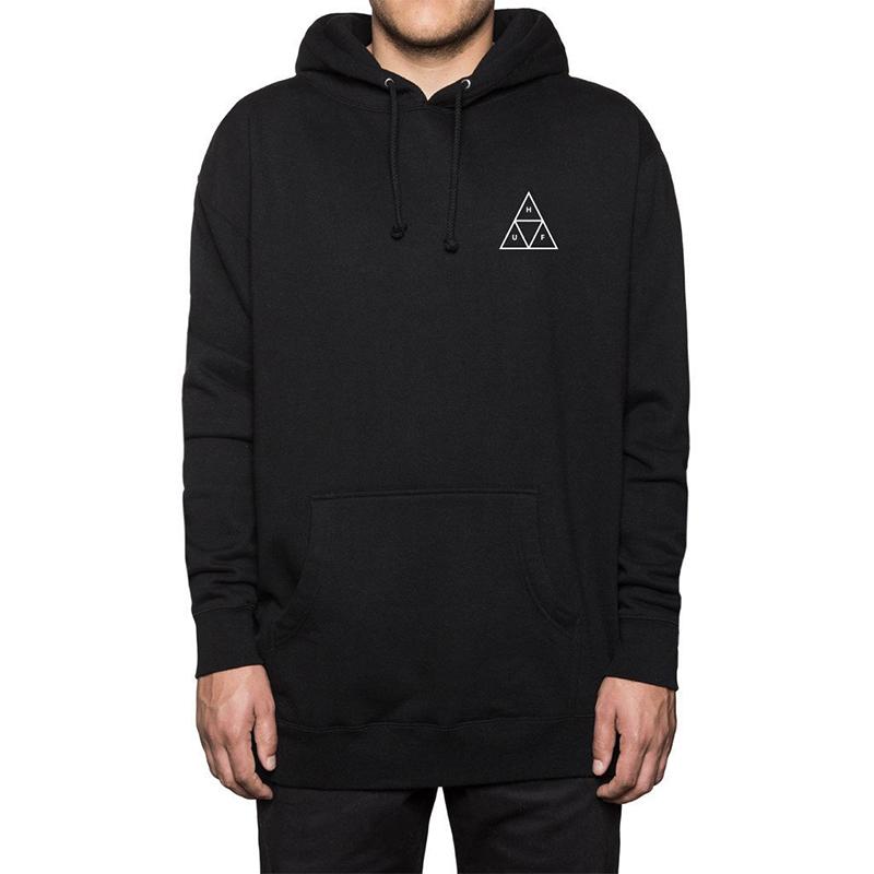HUF Triple Triangle Hoodie Fleece Black