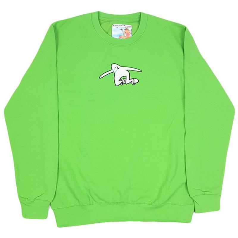 Leon Karssen Droevig Crewneck Sweater Green