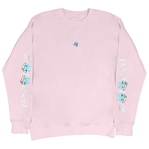 Leon Karssen Polo Cat Crewneck Sweater Pink