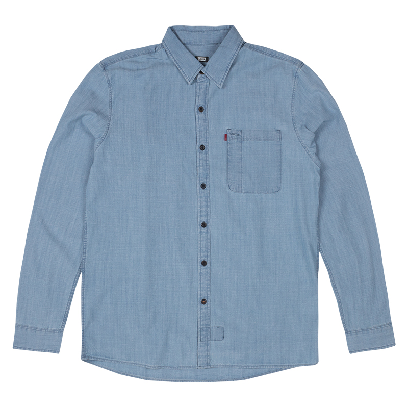 Levi's Riveter Shirt Washed Chambray