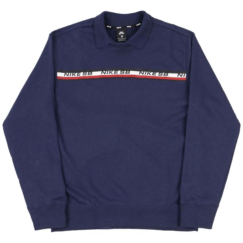 Nike SB Crewneck Sweater Midnight Navy