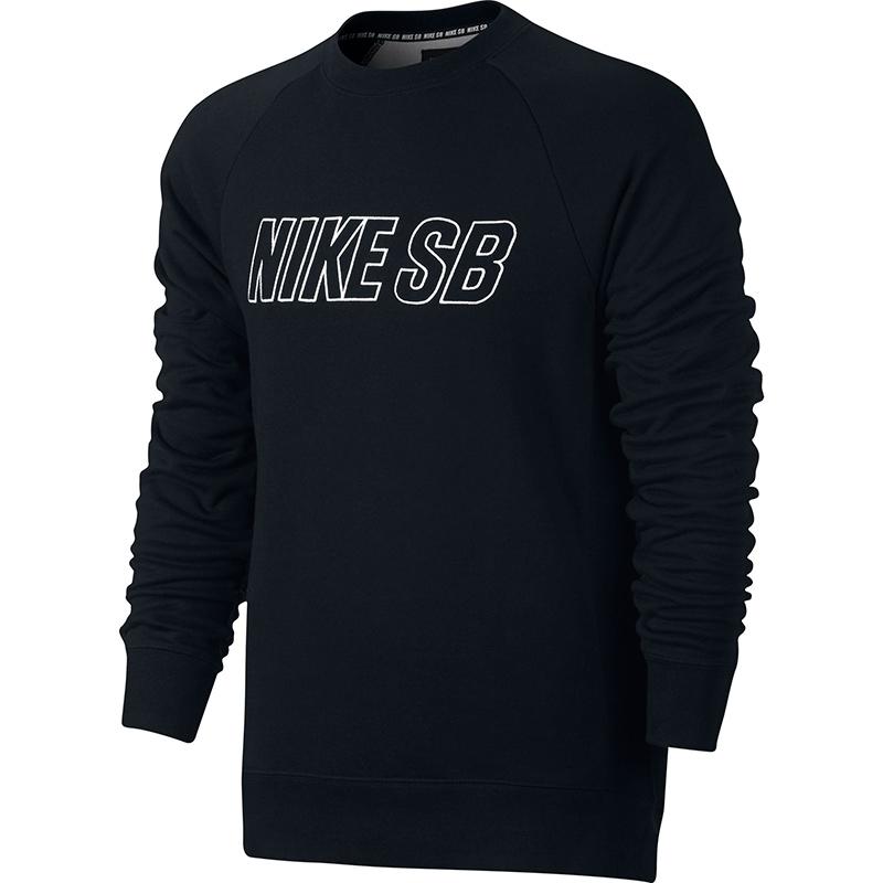 Nike SB Everett Reveal Crewneck Sweater Black/White