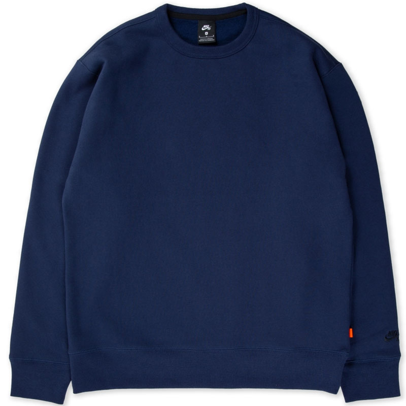 Nike SB Iso Crewneck Sweater Midnight Navy/Dark Obsidian