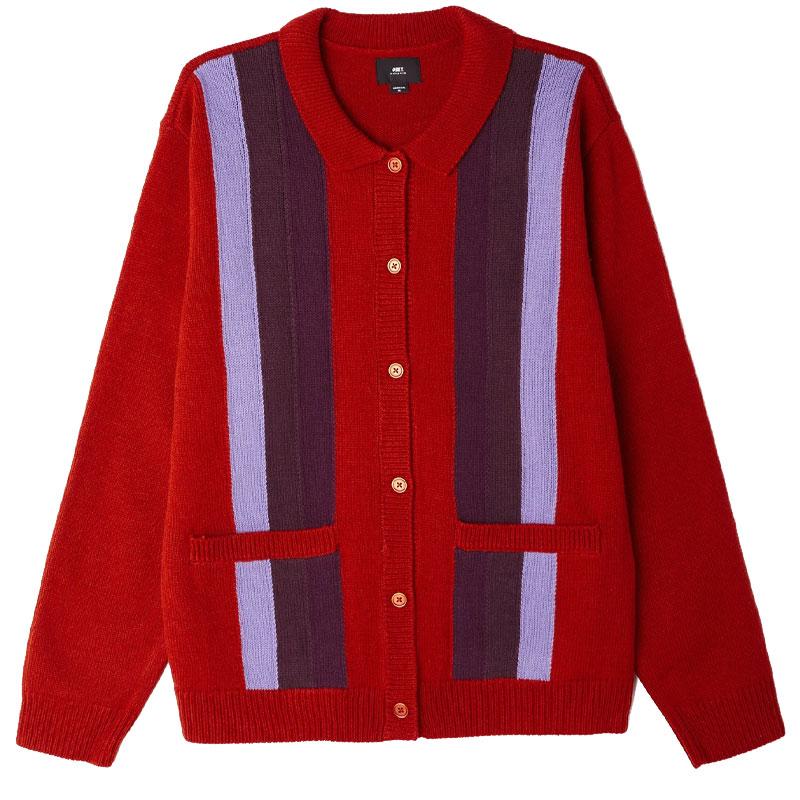 Obey Archer Sweater Chili Multi