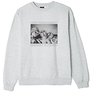Obey Desire Crewneck Sweater Ash