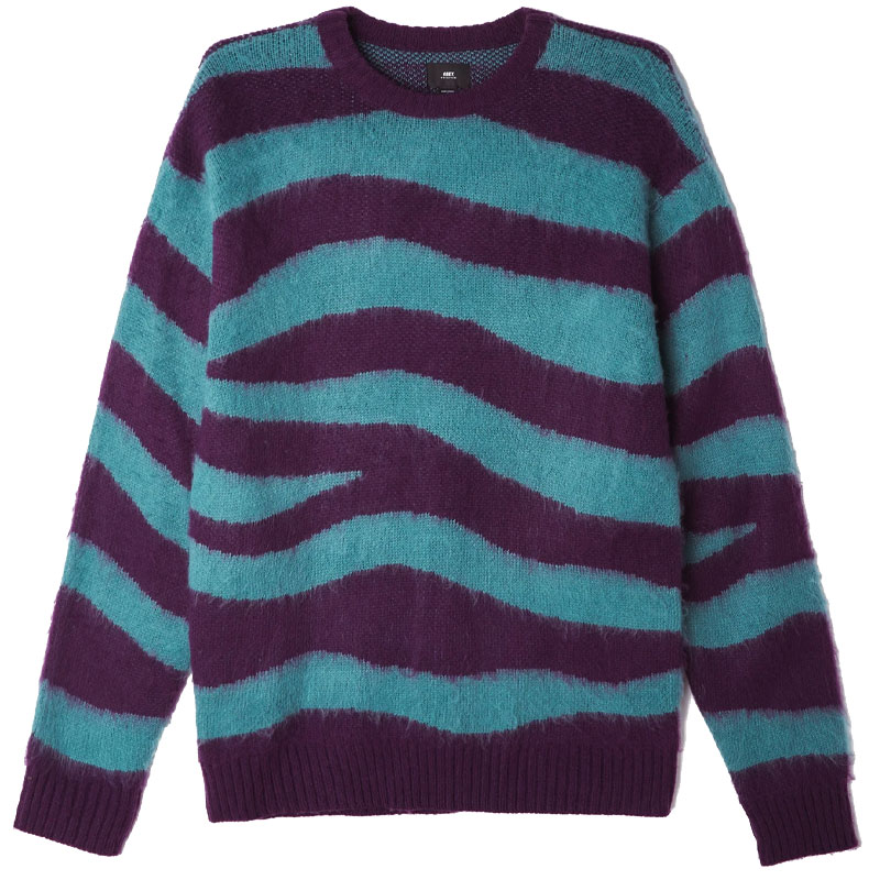 Obey Dream Sweater Green Multi