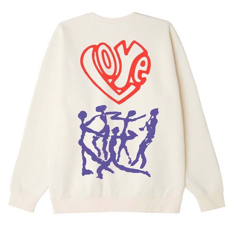 Obey Free Your Feelings Crewneck Sweater Sago