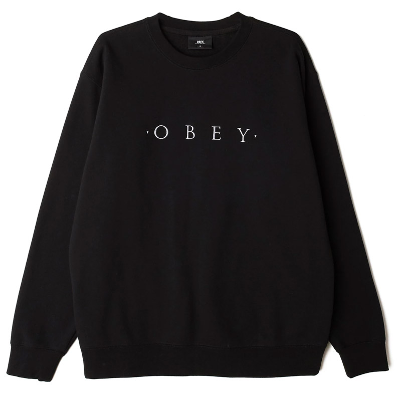 Obey Nouvelle II Crewneck Sweater Black