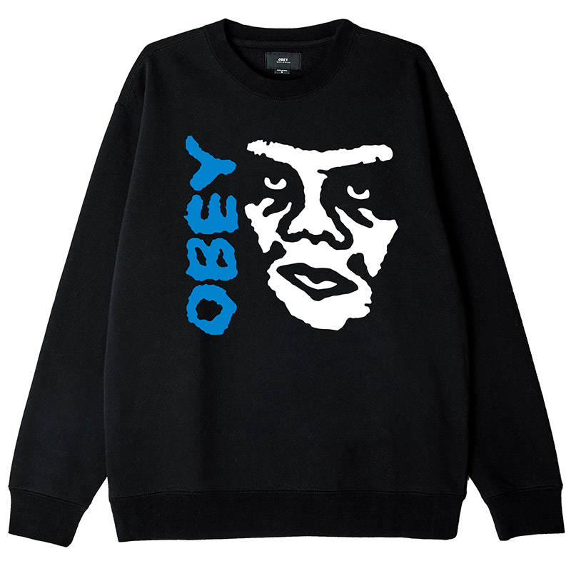 Obey The Creeper 2 Crewneck Sweater Black