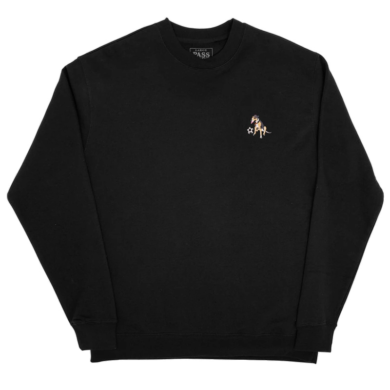 Pass-Port Bobby Embroidery Sweater Black