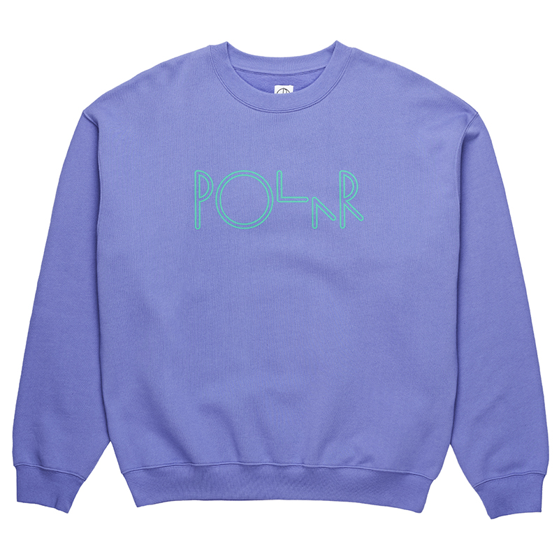 Polar American Fleece Crewneck Sweater Violet