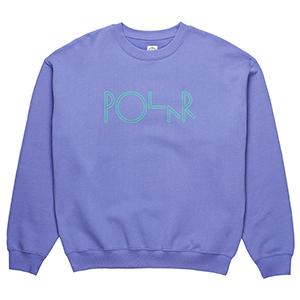Polar American Fleece Crewneck Sweater Violet
