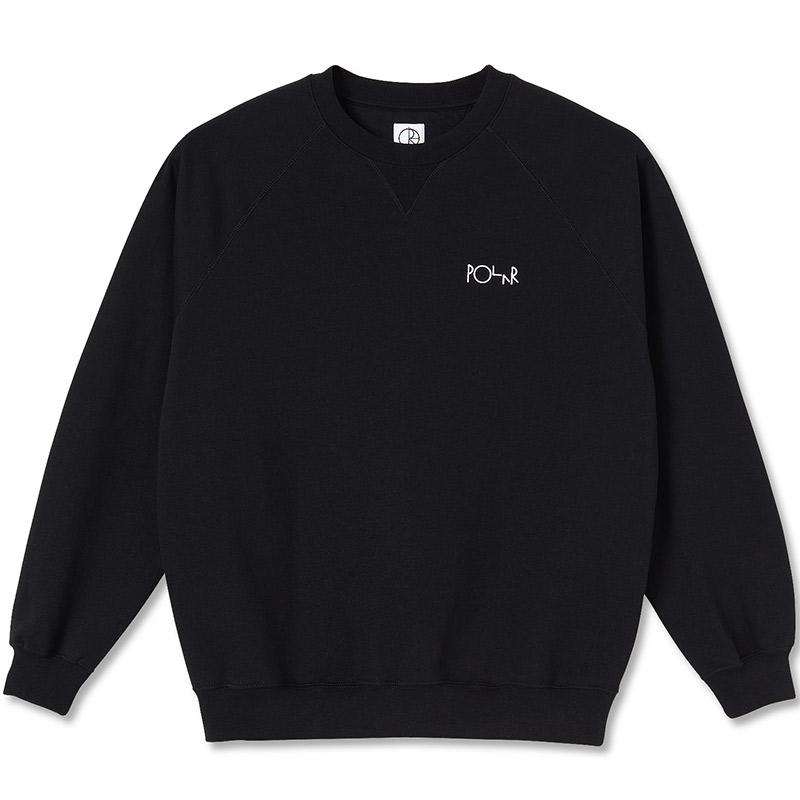 Polar Default Crewneck Sweater Black