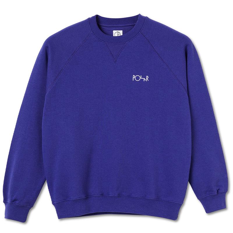 Polar Default Crewneck Sweater Purple