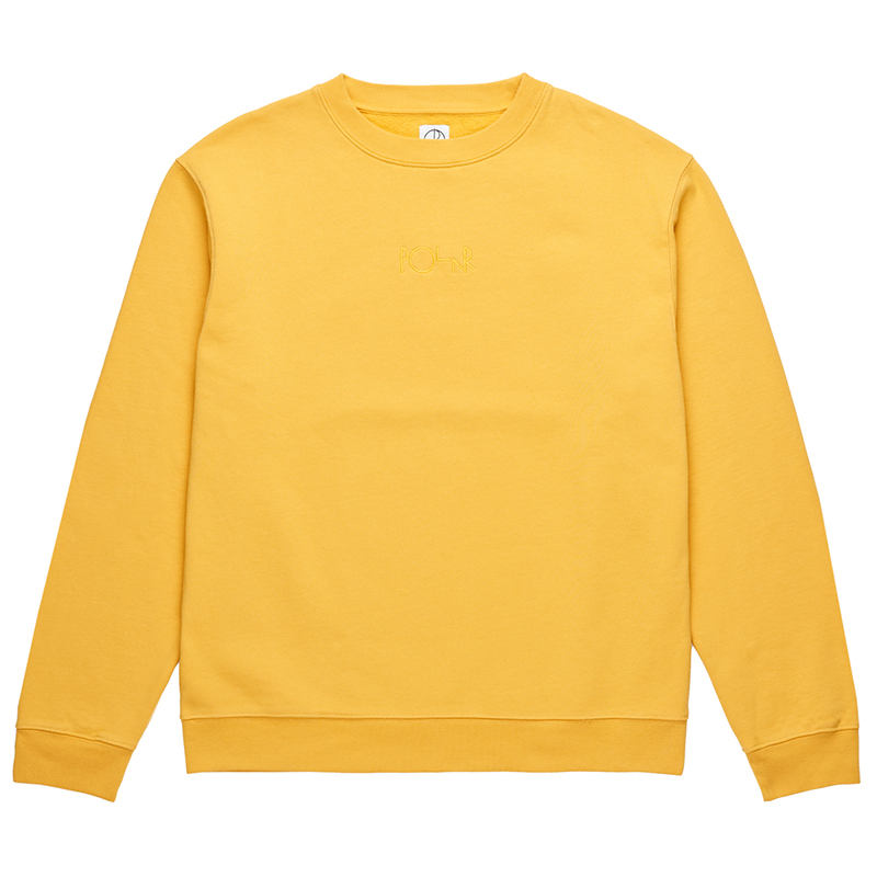 Polar Heavyweight Default Crewneck Sweater Apricot