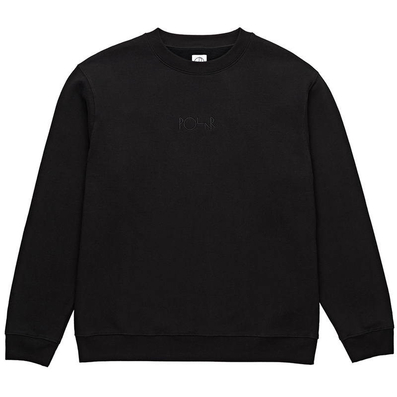 Polar Heavyweight Default Crewneck Sweater Black