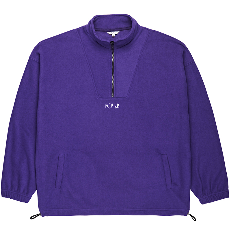 Polar Lightweight Fleece Sweater Deep Purple