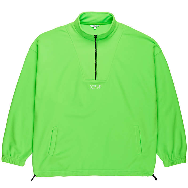 Polar Lightweight Fleece Sweater Gecko Green