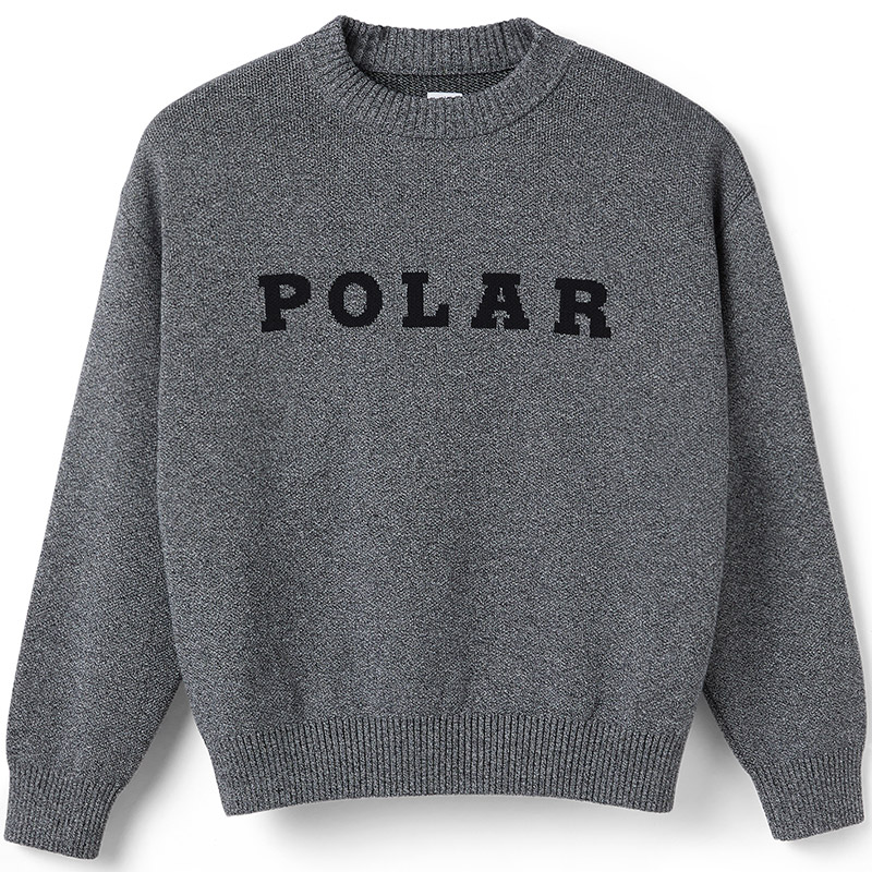 Polar Polar Knit Sweater Black