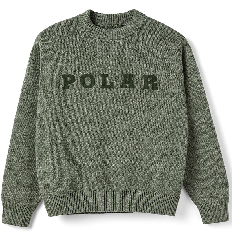 Polar Polar Knit Sweater Green