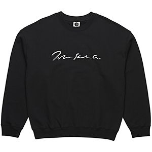 Polar Signature Crewneck Sweater Black