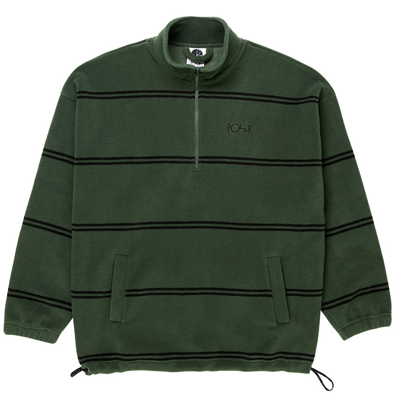 Polar Striped Fleece Sweater 2.0 Olive