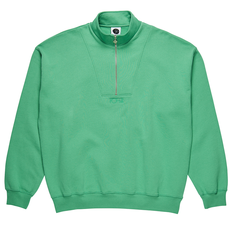 Polar Zip Neck Sweatshirt Peppermint