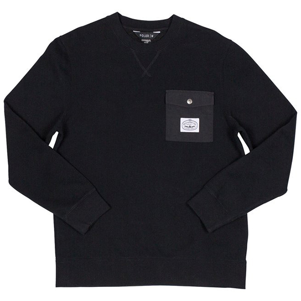Poler Bagit Crewneck Sweater 2.0 Black