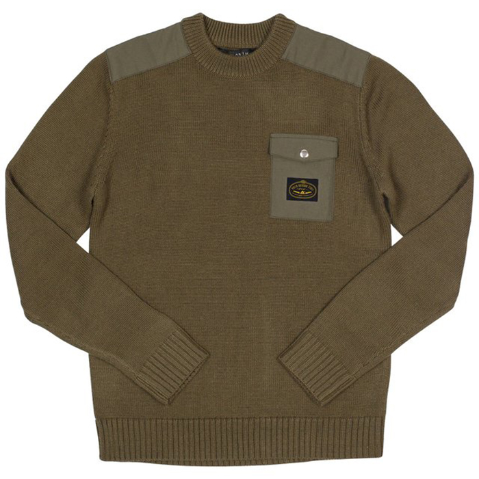 Poler Lockhart Sweater Olive