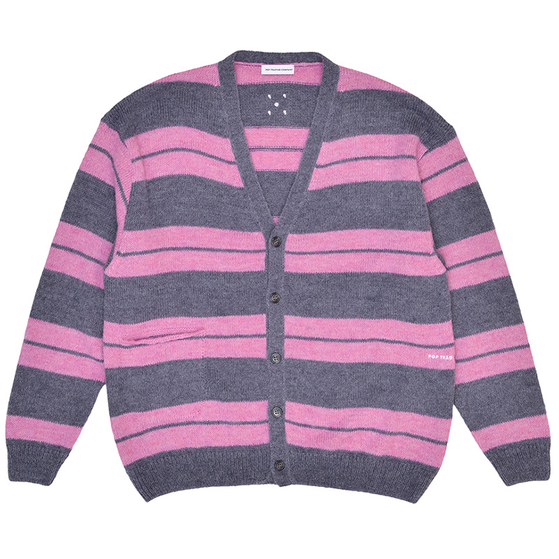 Pop Trading Company Captain Knitted Cardigan Zephyr