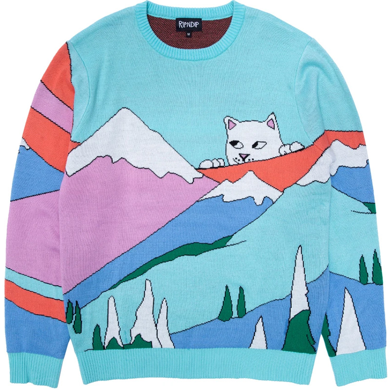 RIPNDIP Kiss The Sky Sweater