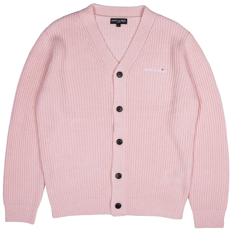 RIPNDIP Must Be Nice Cardigan Pink