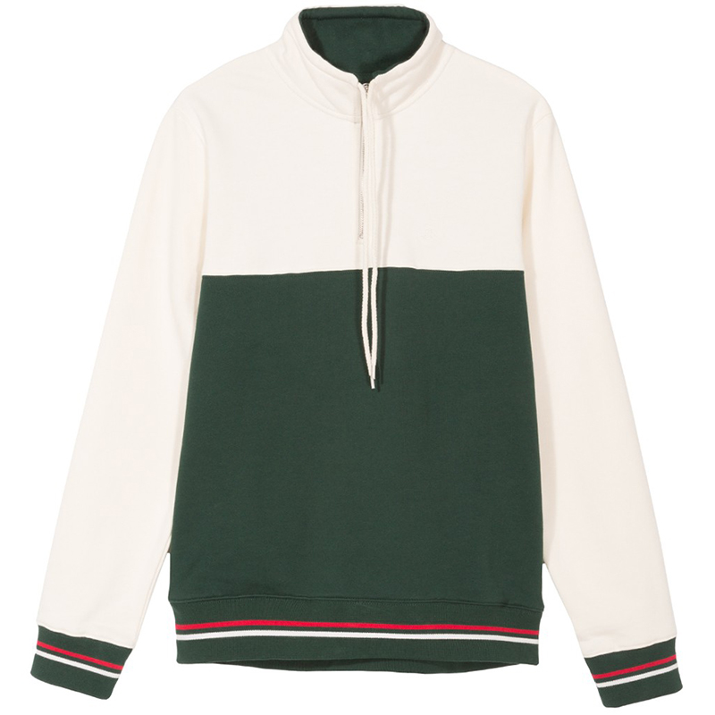 Stussy Drawcord Moch Neck Green