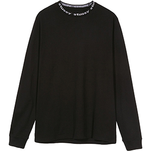 Stussy Owen Crewneck Sweater Black