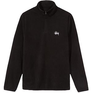 Stussy Polar Half Zip Fleece Black