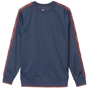 Stussy Poly Track Crewneck Sweater Navy