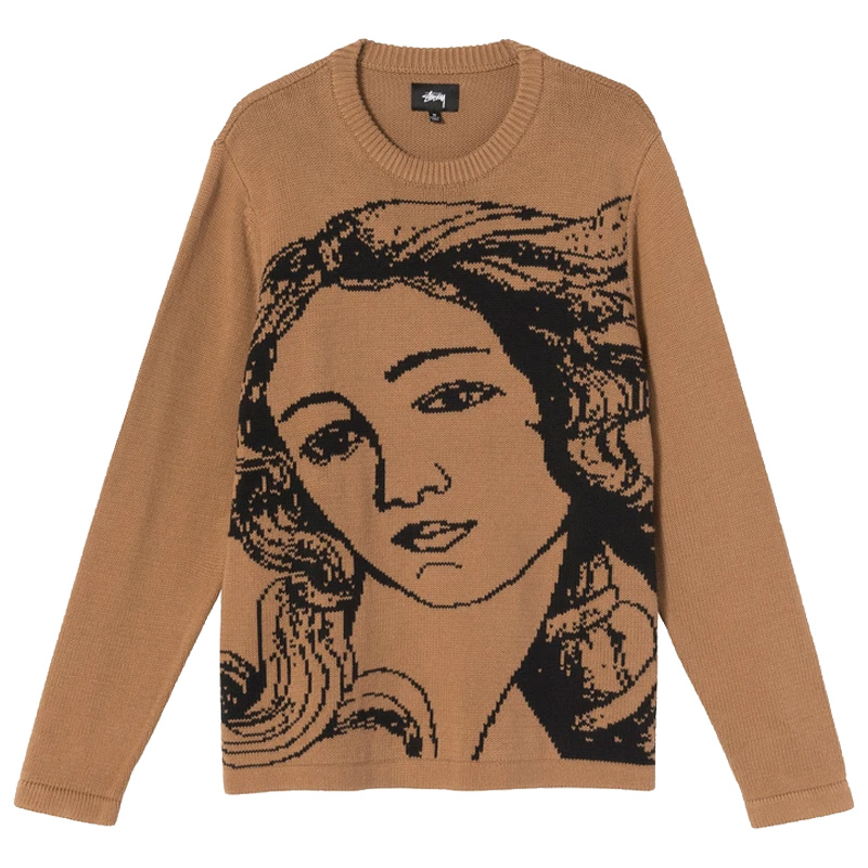 Stussy Venus Sweater Brown