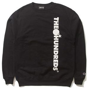 The Hundreds Bar None Crewneck Sweater Black