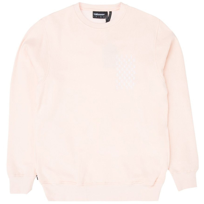 The Hundreds Bartlett Crewneck Pale Pink